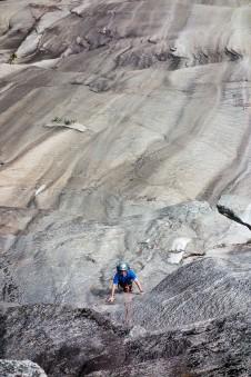 Rock Climbing on Whitehorse Ledge