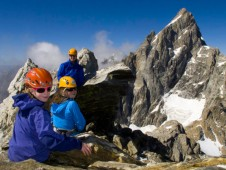 Rock Climbing in the Tetons