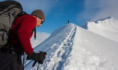 Ascending a Ridgeline